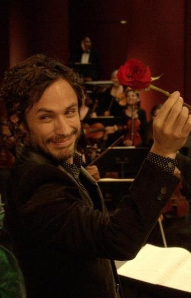 "A rose you want to accept: ""Mozart in the Jungle,"" one of Amazon's originals."