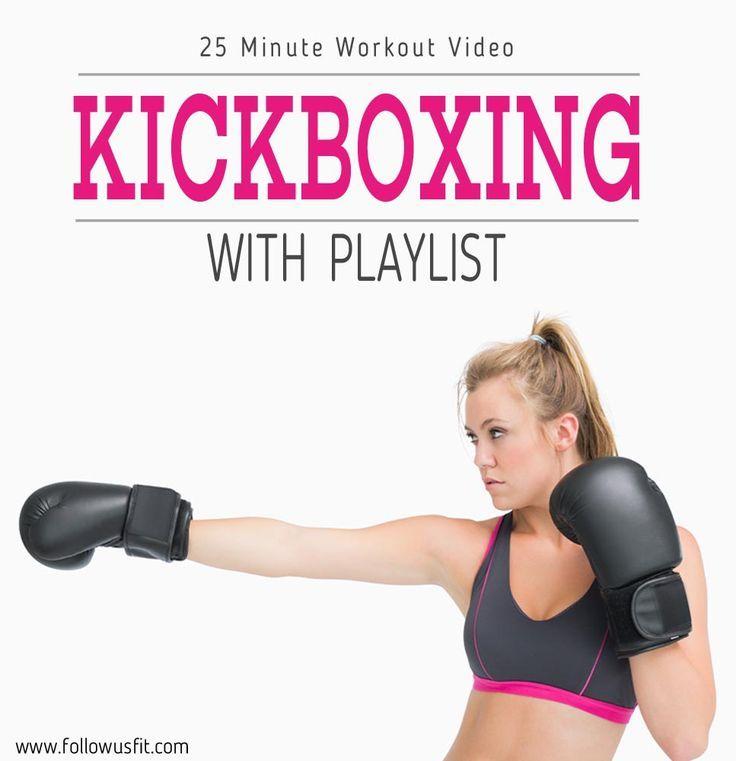 25 minute kickboxing workout #GetFit