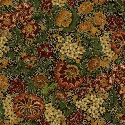 Robert Kaufman - Florentine APTM-5084-4 AUTUMN by Peggy Toole