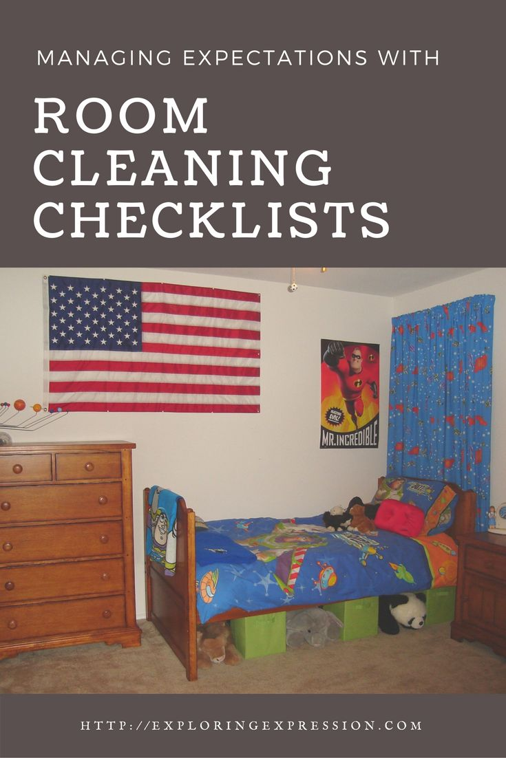 Managing expectations with room cleaning checklists