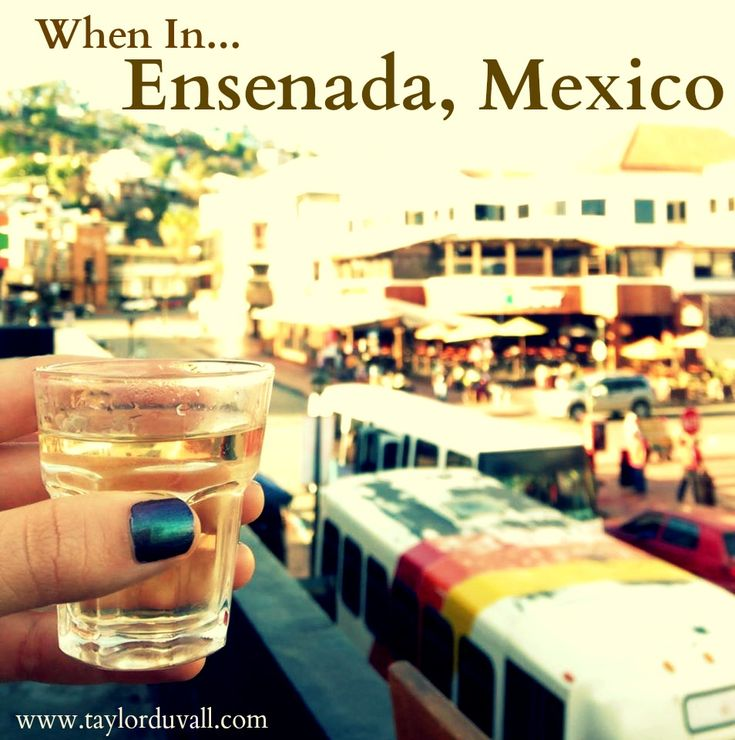 Are you wanting to visit Ensenada Mexico? Here is my experience and suggestions. Trust me, it's a blast. Hint: Drink lots and lots of tequila. Trust me!