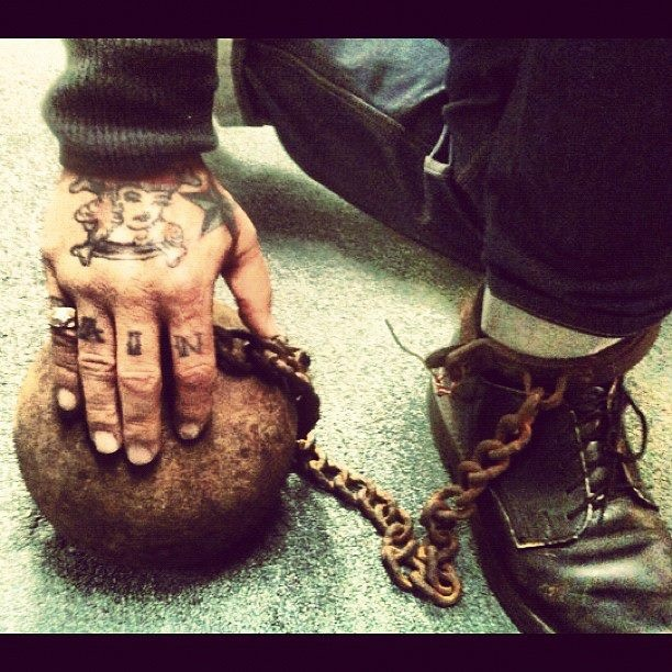Mike Ness Ball & Chain with Solovair / Dr.Martens ....!!