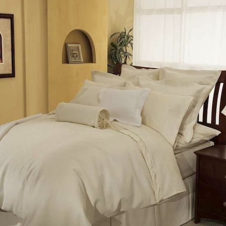 Lattice 50/50 Poly Cotton Weave by Cuddle Down Canada