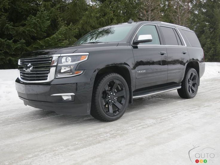 2017 #Chevy #Tahoe Premier and its clones | Car Reviews | Auto123