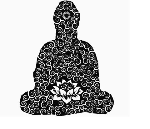 Buda: Om Shanty, Thoughts Manifest, White Buddha, Buddha Buddha, Buddha Doodles, Www Facebook Com Namastacyyoga, Big Buddha