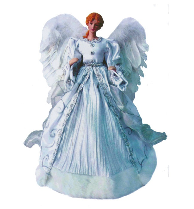 36 best Angel tree topper s images on Pinterest | Christmas angels ...