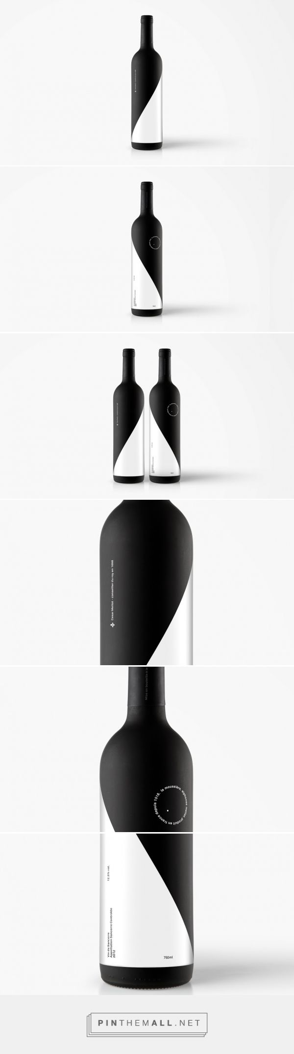 Domaine Mellot (Student Project) - Packaging of the World - Creative Package Design Gallery - http://www.packagingoftheworld.com/2016/06/domaine-mellot-student-project.html