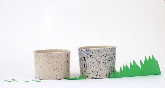 handmade tapas cups la petite fabrique de by Sciallanolucile, $38.00