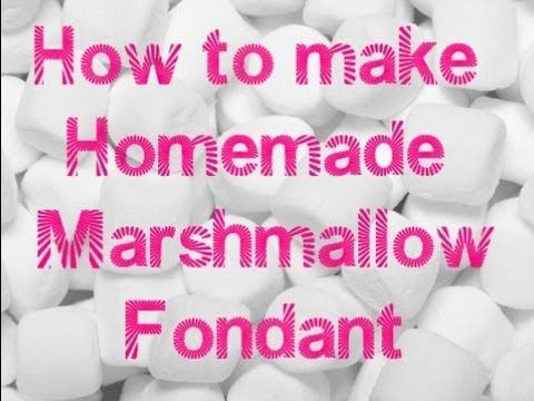 An easy homemade marshmallow fondant recipe. This recipe is really good for beginners. As a beginner you will find yourself going through lots of recipes you find online, you may also find yourself buying every single brand out there. It can begin to get costly. Just thought I would share one recipe with you. You can't beat an easy recipe and th...