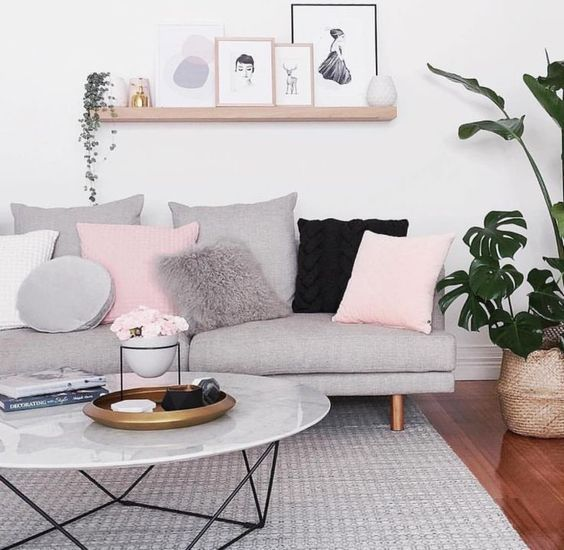 Scandinavian Living Room Design-Ideen, die Sie ins…