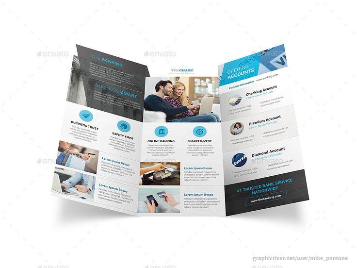 Banking Trifold Brochure Banking Trifold Brochure Banking
