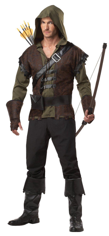 Best #Halloween Costumes for Men.   3. California Costumes Robin Hood Adult Costume - https://www.facebook.com/pages/Adult-Halloween-Costumes/219675301430864