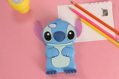 Stitch Phone Case Stitch 3D Cartoon Soft Silicone Case For Samsung Cartoon Phone Cases Personalised Phone Case Funny Phone Cases Cute Phone Cases Stitch Case