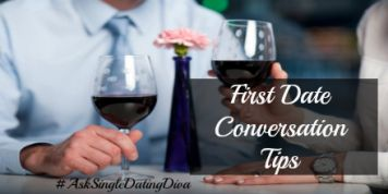 A lot goes into meeting someone new. Even more stressful sometimes is that dreaded first date! Online Dating could mean a lot of first dates and first date after first date you get frustrated, but what if you had some fail proof methods of leaving with your pride intact? In addition to looking good, what comes out of your mouth is even MORE important. Here are some First Date Conversation Tips to help you on your way!  #AskSingleDatingDiva #DatingAdvice #DatingTips #FirstDate
