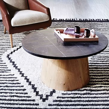 Commune Marble-Topped Coffee Table #westelm
