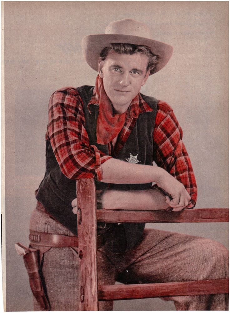 Vintage Movie Magazine clipping James Arness Gunsmoke Star Color Must See | eBay