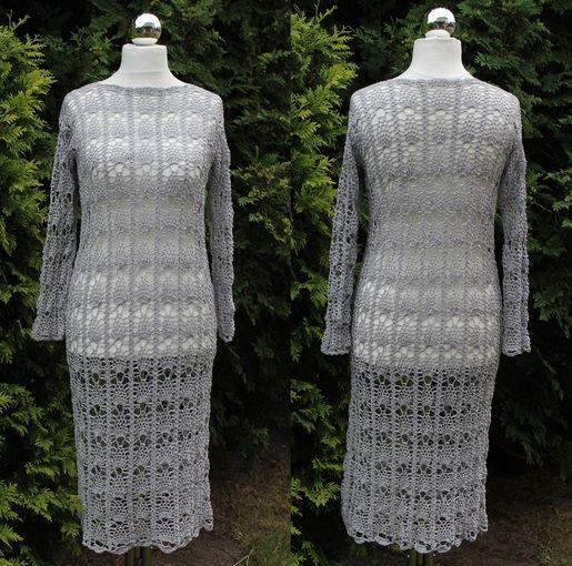 Sukienka szydełkowa (klik w foto po więcej)