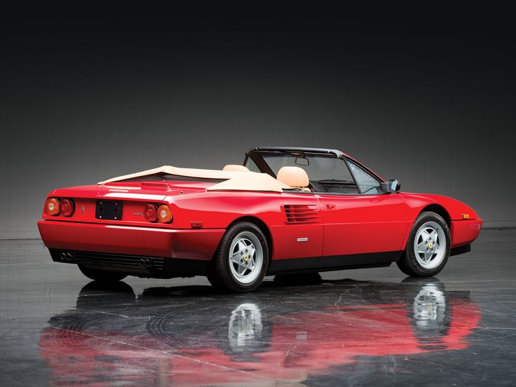 Ferrari Mondial T Cabriolet US-spec '1989–93