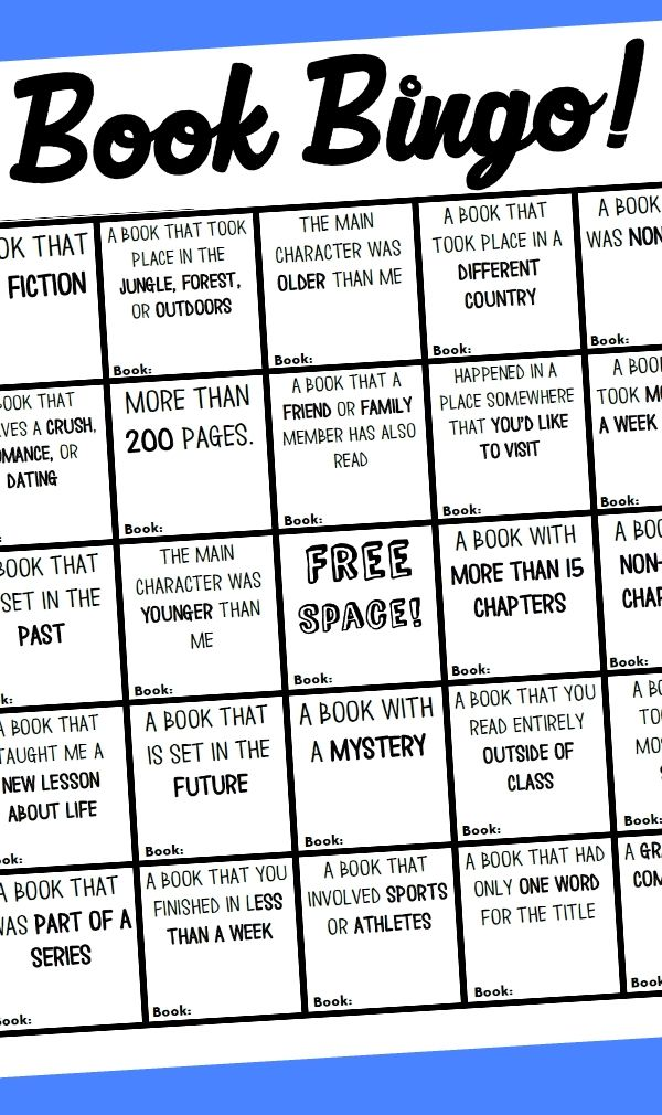 *FREE!*  Here is a great way to encourage and reward readers. Over the summer I actually participated in an adult book bingo sponsored by my local city library. It was a lot of fun and really did push me to try some books that I wouldn't have otherwise. I was also really excited to finish up a complete bingo line and get a chance to win a drawing. Now it's your turn to bring that same excitement to your students! Enjoy!