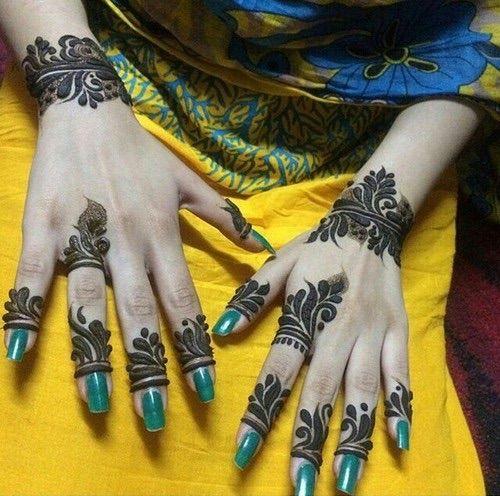 Image via We Heart It #henna #حنى