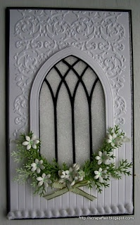 Such a beautiful window with greenery.