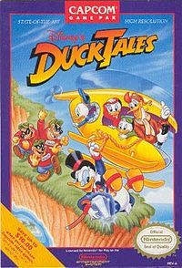 I never fully mastered the Duck Tales game mechanic, but I did watch every single episode of the TV show...