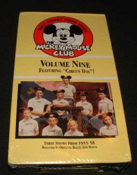 The Mickey Mouse Club Vol 9 Featuring Circus Day @ niftywarehouse.com #NiftyWarehouse #Disney #DisneyMovies #Animated #Film #DisneyFilms #DisneyCartoons #Kids #Cartoons