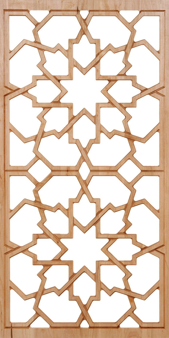 This would be a fabulous garden gate or trellis!!  Moorish Pattern Lattice