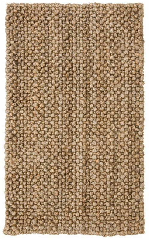 Classic Home Braided Jute Knobby Loop Natural Rug | Casual Rugs
