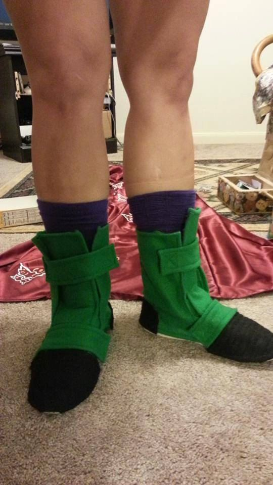 Dragon Ball Z (Videl) Cosplay Boots | Future Cosplay Ideas ...
