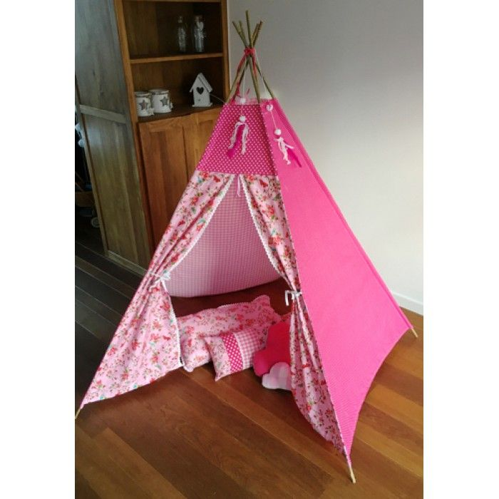 Tipi tent wigwam birdy roze