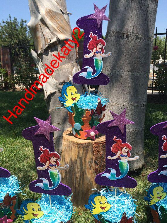 pieza central de la sirena para su partido. por handmadekaty2