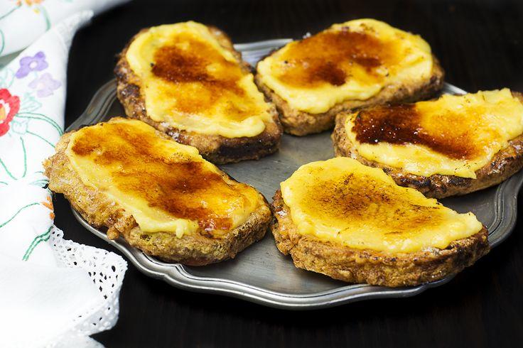 Torrijas con crema caramelizada - La Cocina de Frabisa La Cocina de Frabisa