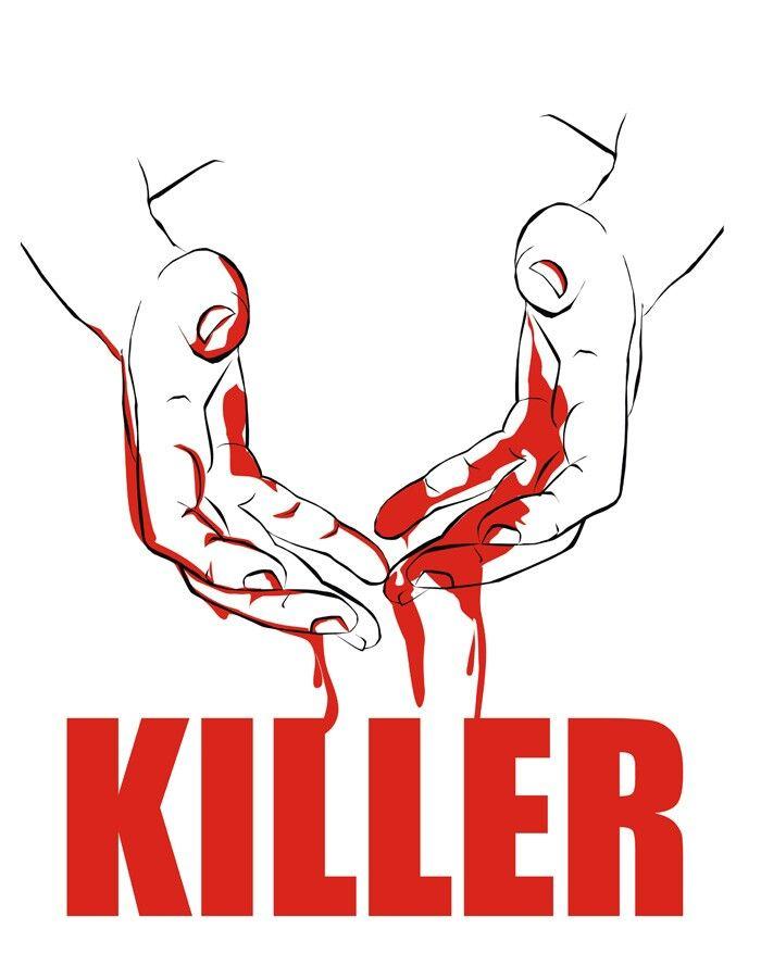 Killer Bloody Hands Illustration