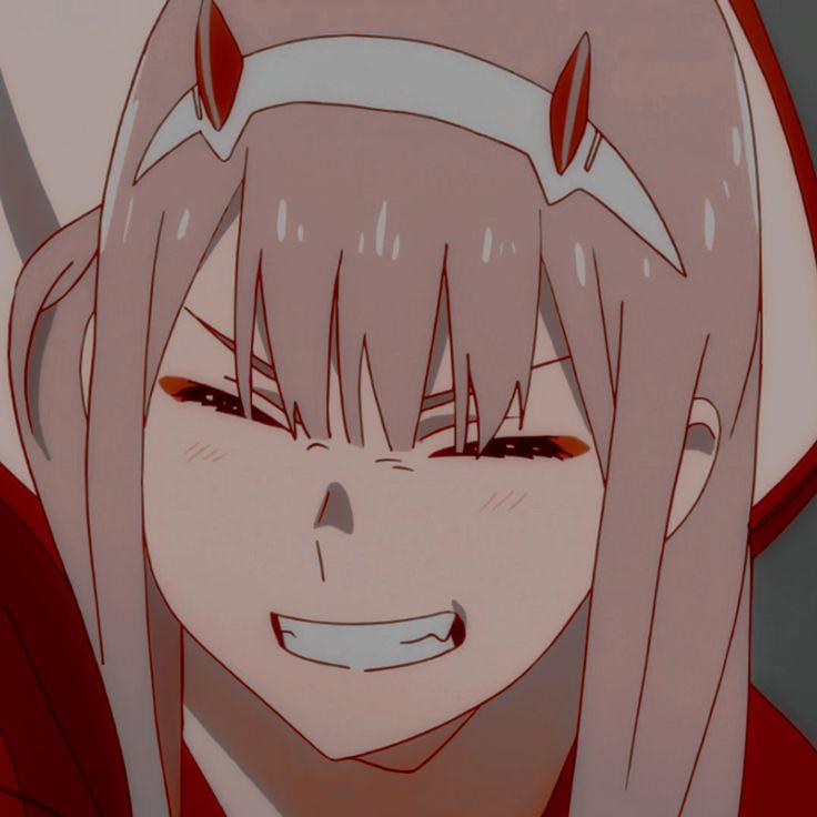 anime icon: zero two en 2020 | Fotos de perfil, Foto de ...