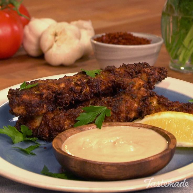 This favorite Middle Eastern food works wonders on chicken fingers