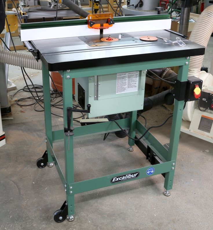 The Excalibur Deluxe Router Table Kit is worth a close look. It has all the best features, such as a cast iron top, good dust collection and a great lift.