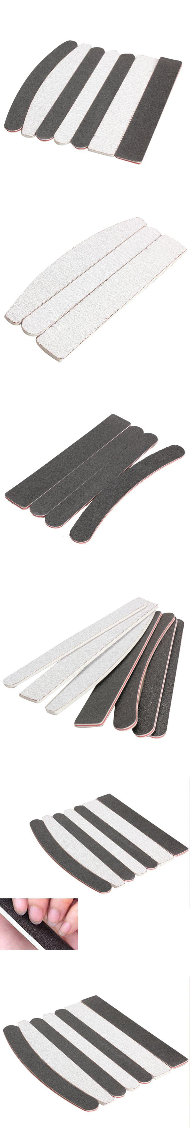 7pcs Professinal Mini Nail File Plastic Mini Nailfile Polishing Buffing Sandpaper Nail Sanding Wood Nail Files lime a ongle