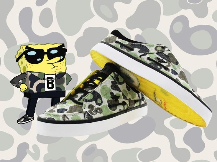 Creative Recreation x BAIT 'Spongebob' Collection