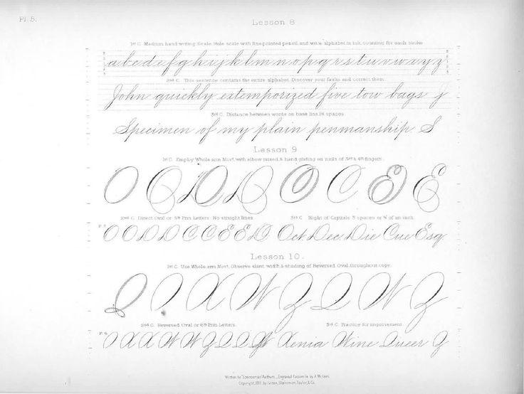 Spenserian Capital Letters