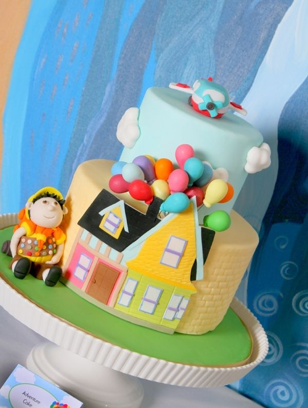 Up Movie Inspired Balloon Birthday Party Ideas Party