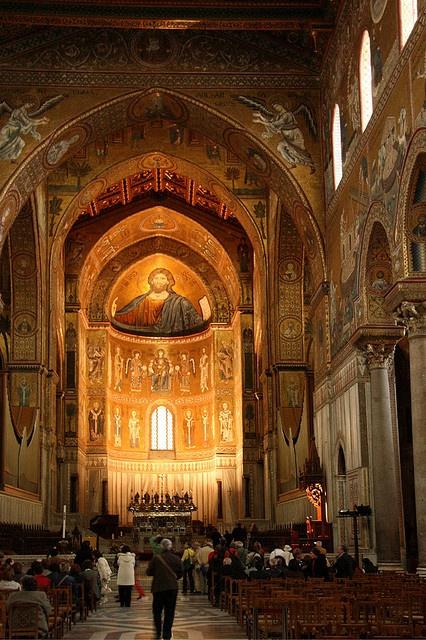 Duomo di Monreale (Sicilia, Italia) - Cathedral of #Monreale ( #Sicily, Italy)