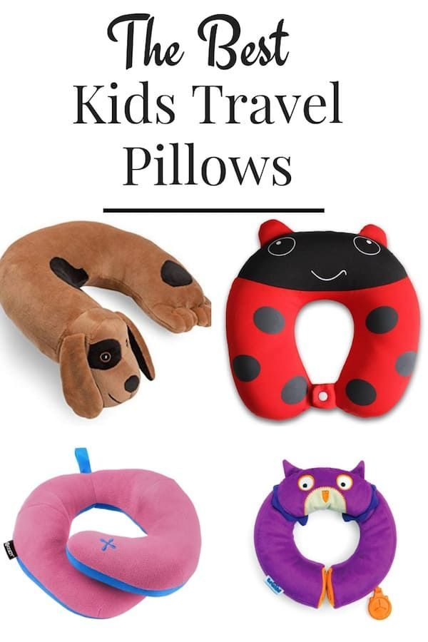 the best travel pillows for kids 2021
