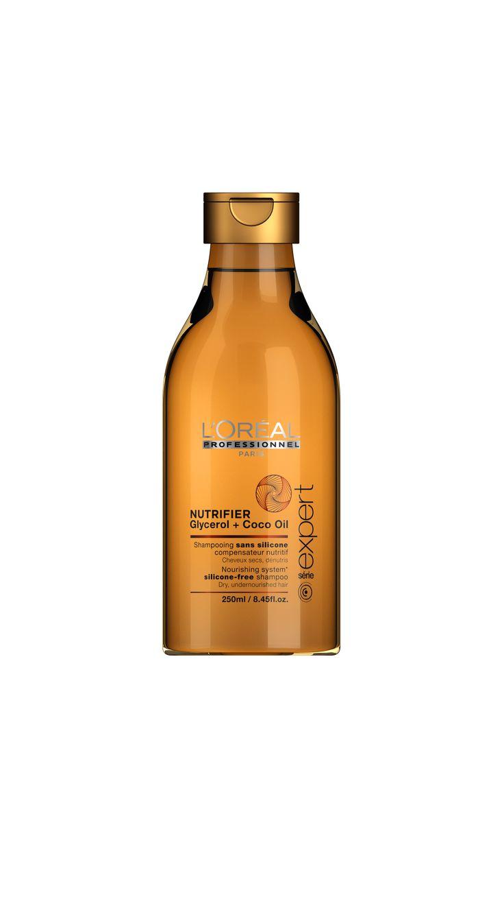 L'Oréal Professionnel Paris Série Expert Nutrifier Nourishing System silicone-free shampoo 250ml.