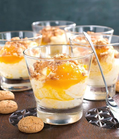 Apricot & White Chocolate Fool