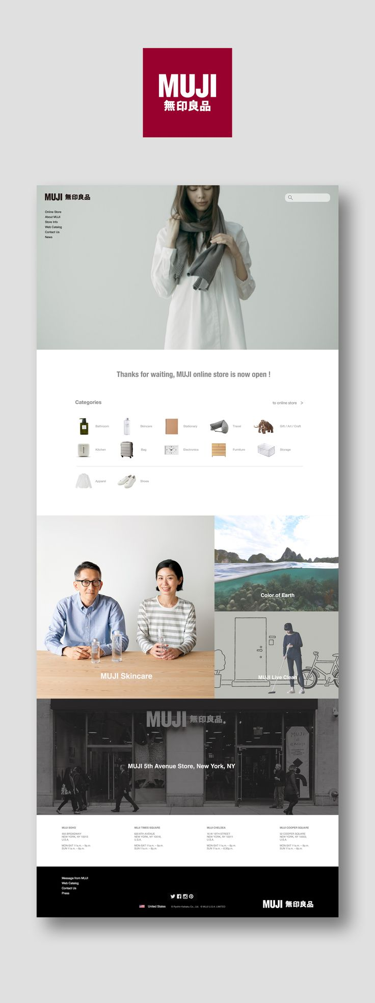 Ryohin Keikaku Co.,Ltd. , or Muji (無印良品 ) is a Japanese retail company which sells a wide variety of household and consumer goods. Muji is distinguished by its design minimalism, emphasis on recycling, avoidance of waste in production and packaging, and n…