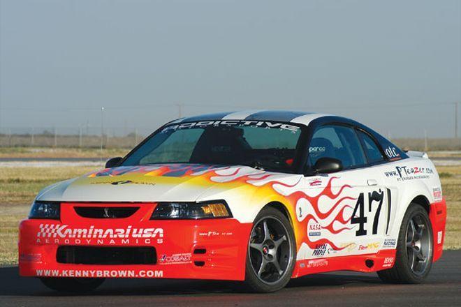2003 Mustang Cobra Race Car - Jim Hodges Addictive Motorsports @ 5.0 Mustang & Super Fords Magazine