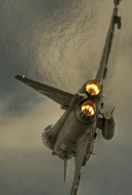 Eurofighter Typhoon, EJ200's working hard.