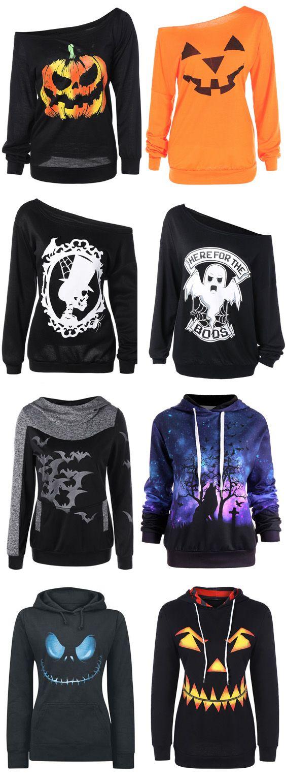Halloween sweatshirts & hoodies for women