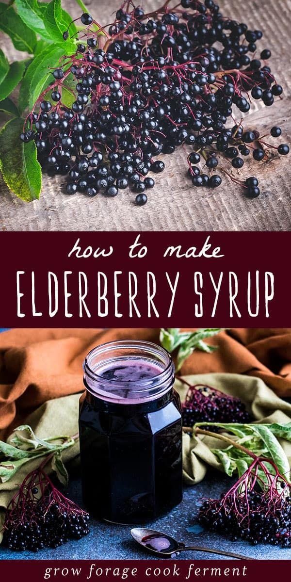 Recipe Elderberry Syrup
